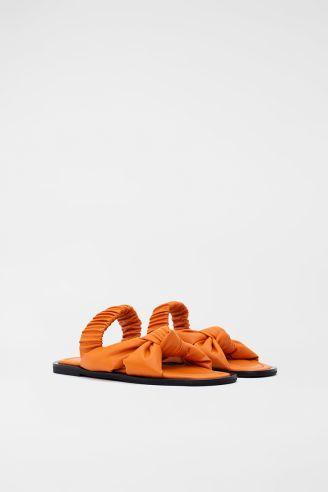 Σανδάλι Πορτοκαλί