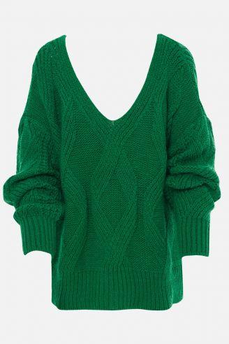 Knitwear Green