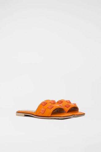 Παντόφλα Πορτοκαλί