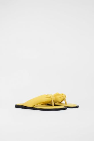 Παντόφλα Κίτρινη
