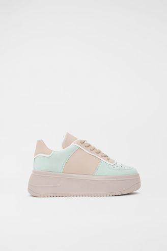 Sneaker Μπεζ