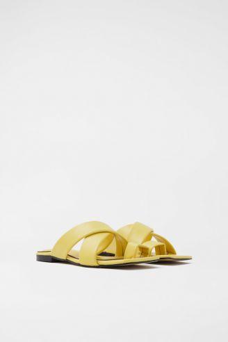 Παντόφλα Κίτρινο